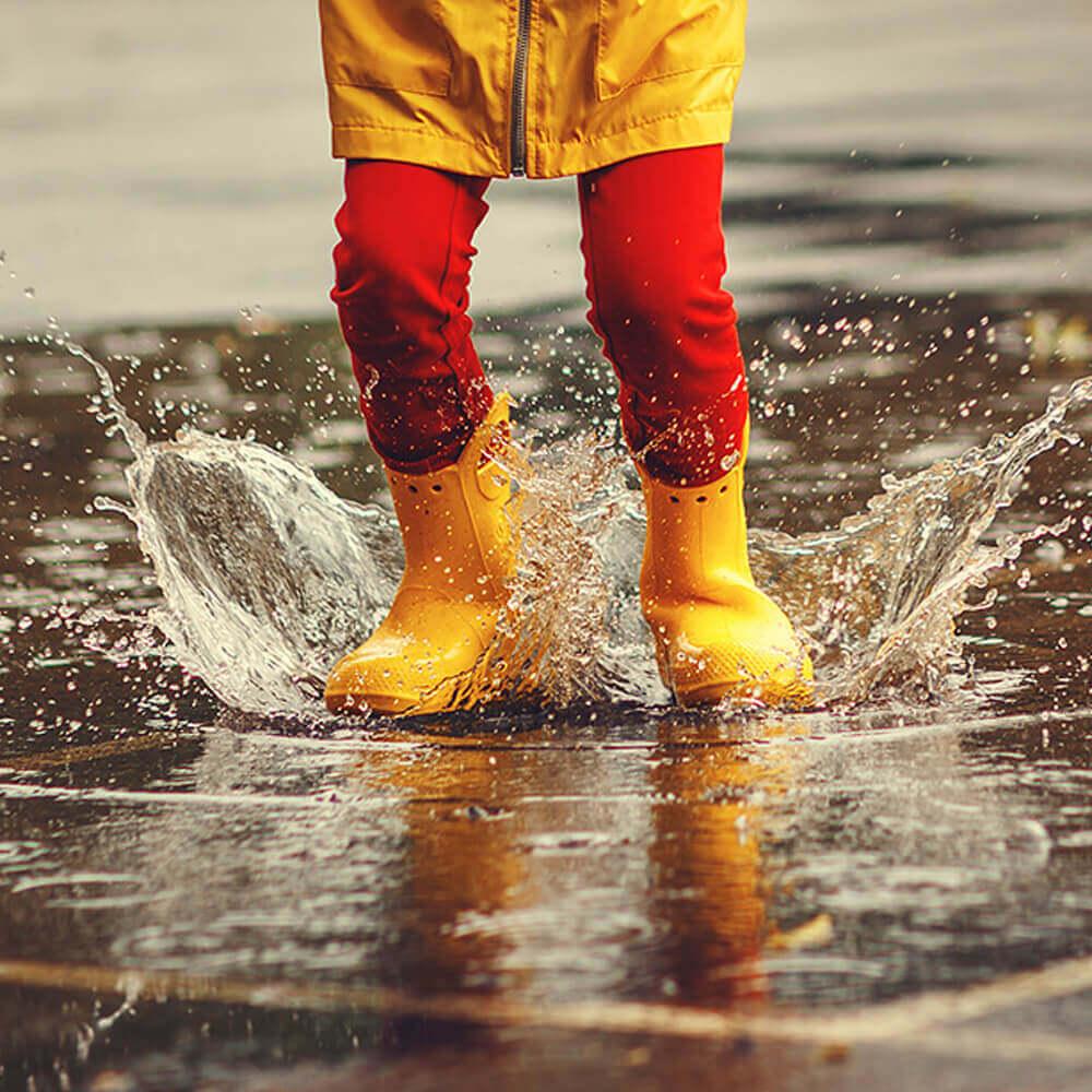 Proteggi le superfici dall'acqua uno strato trasparente e resistente